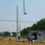 Galvanisierter Stahltelekommunikations-einzelner Pole-Aufsatz