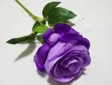 Artiicial 실크 꽃 단 하나 로즈