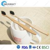 Soies decharbon de bois naturel organique biodégradableadulte brosse à dents de bambou