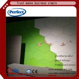 доска волокна полиэфира панели стены 3D акустическая