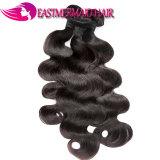 ボディ波のインドの毛の編むバージンの人間のRemyの毛の拡張