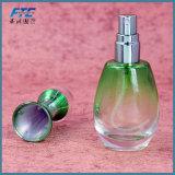 frasco Refillable de vidro vazio colorido do pulverizador de perfume 10ml