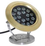 新しいデザイン黄銅IP68 LEDの水中噴水ライト