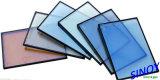 Vidro flutuante claro de 3 mm - 12 mm, vidro colorido a cores e vidro reflecto em folha de estoque