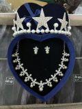 신부 결혼식 부속품 크라운 귀걸이 목걸이