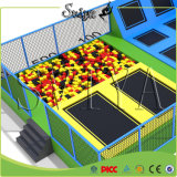 Real Projects Parque de diversões Foam Pit Jump Heavy Duty Trampoline