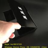 カスタマイズされた黒いアクリルの宝石類のギフト用の箱