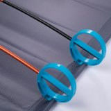 L Indio Portable Ultralight Folding Single Camp Bed Travel Cot Tent Bed Aluminum Alloy Metal Frame Outdoor Camping Hiking Fishing Beds