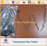 Волокно конкретного полипропилена волокна Twisted вместо стального волокна