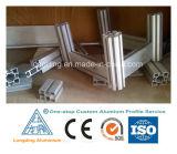 Profil en aluminium d'aluminium de formes d'extrusion