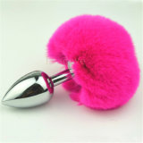 Штепсельная вилка приклада кабеля зайчика штепсельной вилки мягкого металла кабеля кролика заднепроходная