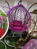 Cadeiras dobro ao ar livre do ovo do balanço do Rattan ao ar livre moderno do balanço do pátio