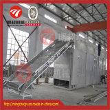 De Drogende Apparatuur van de Tunnel van de Machine van de Droger van de Transportband van de hete Lucht