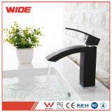 Projetos modernos do Faucet preto Matte disponível da amostra, Faucet de bronze da bacia