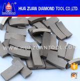 Segment de foret de diamant pour le béton de découpage