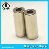 Ímãs permanentes do cilindro poderoso forte super do Neodymium N52