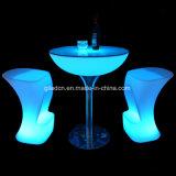 사건 DJ 집 클럽 선술집 호텔을%s 조명된 LED 가구 바 의자