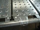 """9.5枚の"""" Ringlockの足場のための金属の板/鋼鉄板/キャットウォーク/プラットホーム"""