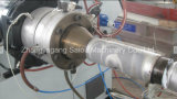 Высокая скорость двойные стенки HDPE гофрированный трубонарезной станок