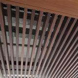 Matériaux d'intérieur de décoration de plafond en plastique en bois écologique du composé WPC
