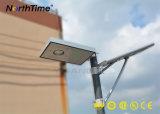 LED 태양 전지판, PIR 운동 측정기를 가진 태양 가로등