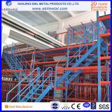 Piattaforma industriale della cremagliera del mezzanine Q235/acciaio di alta qualità