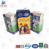 Emballage aseptique pour le lait et le jus