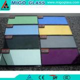 vidrio decorativo del espejo de la dimensión de una variable plana de 3m m
