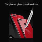 Le verre trempé Anti-Scratch Téléphone Étui pour iPhone X PC cas de verre