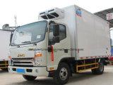 4X2 de Vrachtwagen van de Koude Opslag JAC 5 Ton van het Voertuig van de Ijskast