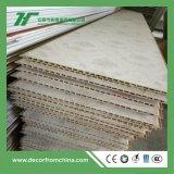 Colore di legno di bambù di legno della decorazione interna del Wallboard della fibra del comitato di parete del PVC