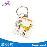 Tipos do cartão Epoxy do Tag T5577 RFID da forma RFID Keychain