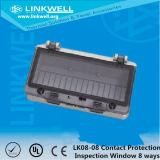 Janela de inspeção impermeável ABS para Switchgear (LK0808)