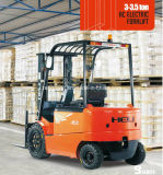 AC Four-Wheel Electric Forklift Heli 3t с Кертис Controller (CPD30)