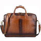 заводская цена хорошего качества OEM-Design сумка для ноутбука Vintage коричневые кожаные сумки документа