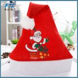De Hoed van Kerstmis van de pluche voor de Hoed van de Kerstman van Kerstmis van Volwassenen en van Jonge geitjes