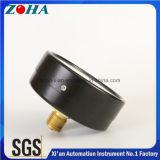1.6MPa calibres de pressão normais axiais de 4 polegadas com venda quente do conetor de bronze de aço preto do caso para o mercado de Rússia