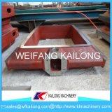 Boccetta della sabbia del contenitore di sabbia della boccetta della fonderia della casella della fonderia di alta qualità