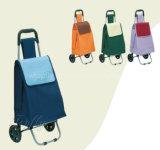 Carrello & bagagli pratici di corsa con i sacchetti dell'ombrello