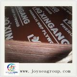 Pegamento WBP 1220x2440x18mm película negra enfrenta la madera contrachapada