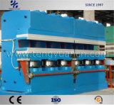 Los neumáticos controlados por PLC la curación de la prensa con diseño de la máquina profesional