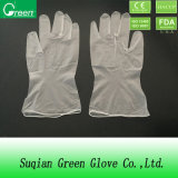 Удалите порошок свободного виниловых перчаток