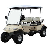 Veicolo utilitario con il generatore dell'ibrido & del cestino (DEL2042D, 4-Seater)