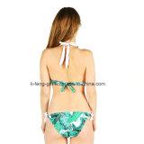 Um Swimsuit que plasma belas mulheres