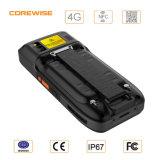 Varredor sem corda do código de barras do laser 1d &2D do leitor ao ar livre industrial de RFID com GPS, Bt4.0