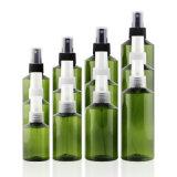 Botella plástica verde al por mayor de la fábrica para el perfume (PB12)