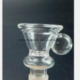 Mannetje 14.5mm, de Olie van de Slang van het glas van de Montage van de Pijp van de Waterpijp van 18.8mm