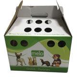 Diseño personalizado para llevar ondulado Caja de papel de Pet