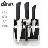 Комплект инструмента ножей Luxery керамический благородный для деталей кухни
