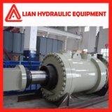 Двойной действующий гидровлический цилиндр плунжера с ISO